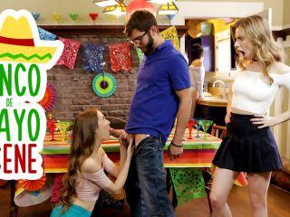 """Anya Olsen,Samantha Hayes"" Cinco De Pie O"